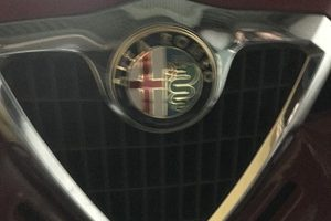 2000年 Alfa Romeo 156 スペアキー作製