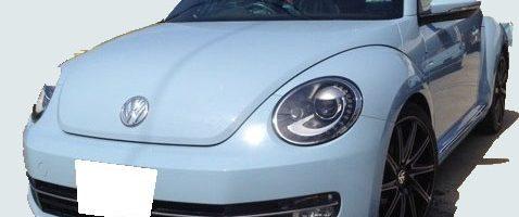 2012 Volks Wagen THE Beetle 紛失キー作製