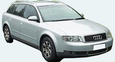 2004年 AUDI A4 アバント 紛失キー 製作