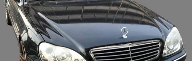 2003年式 Mercedes Benz S500 W220 紛失キー製作