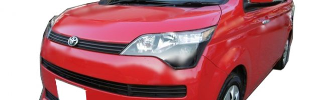 平成28年式 トヨタ スペイド スマートキー 紛失キー製作